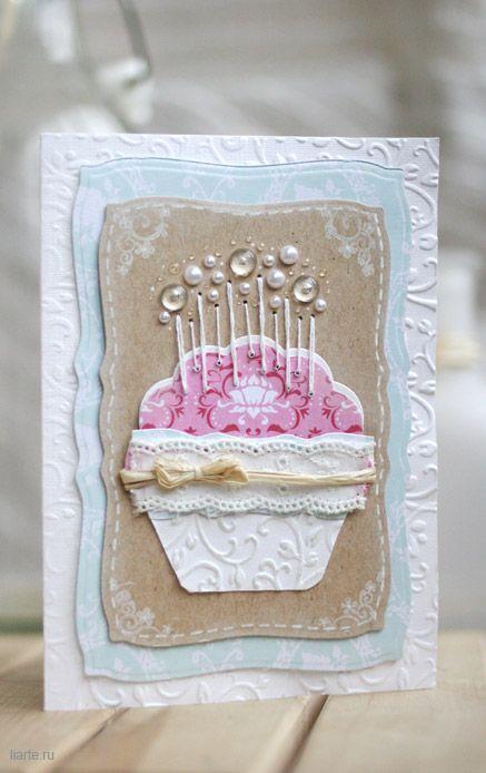 Открытка на день рождения своими руками бабушке   для любимой (19 картинок) (6)
