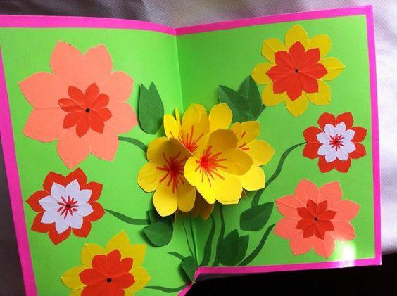 Открытка на день рождения своими руками бабушке   для любимой (19 картинок) (9)