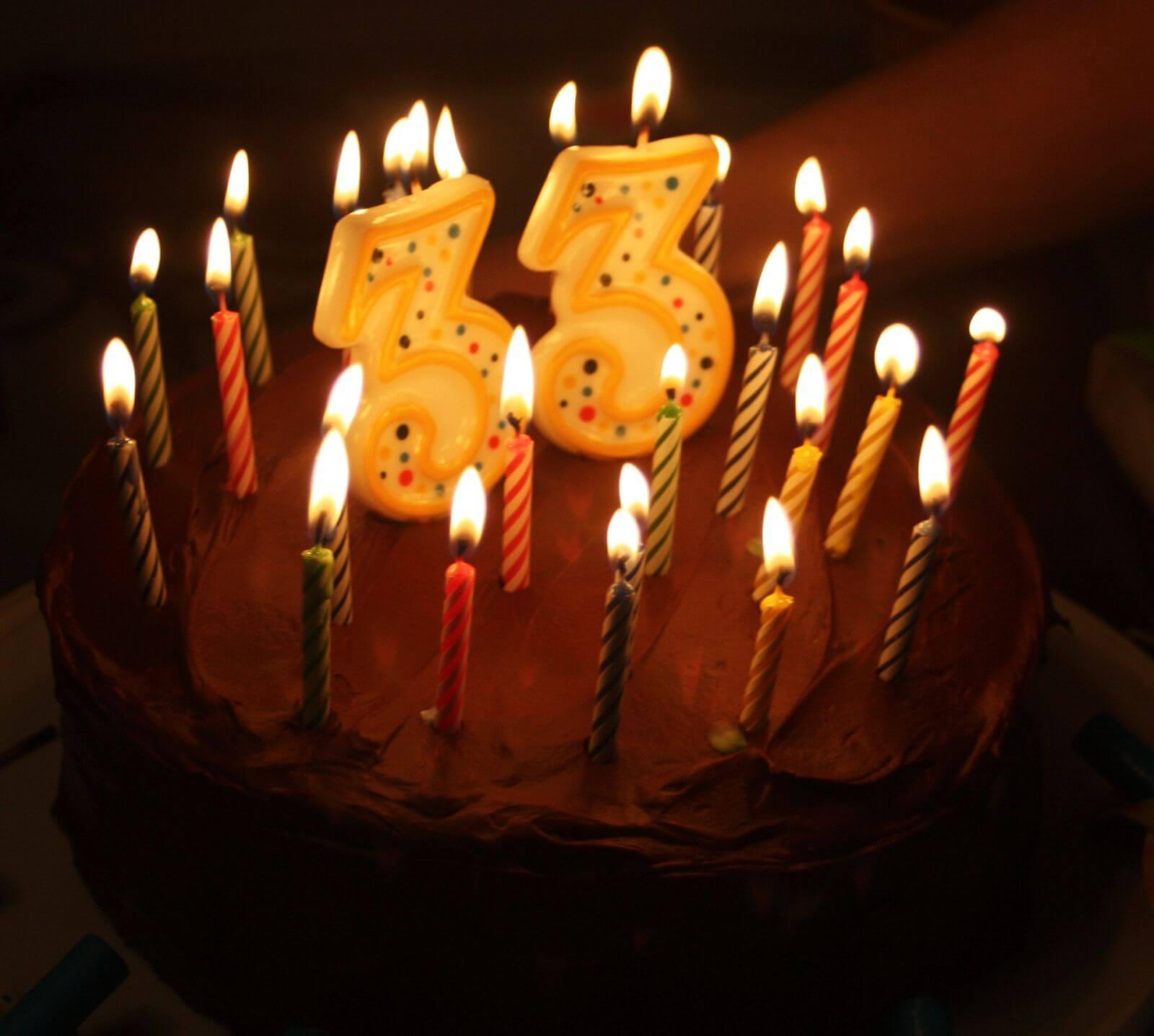 Открытки мужчине с Днем Рождения 33 года лучшая подборка (11)