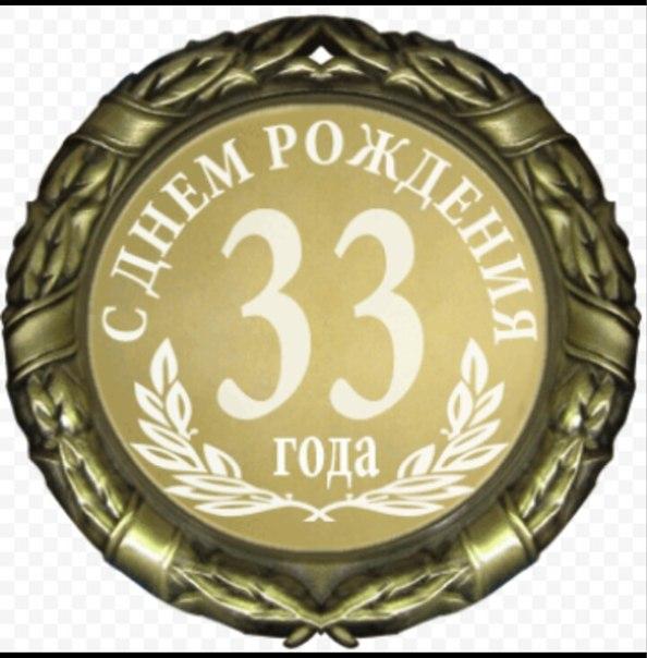 Открытки мужчине с Днем Рождения 33 года лучшая подборка (3)