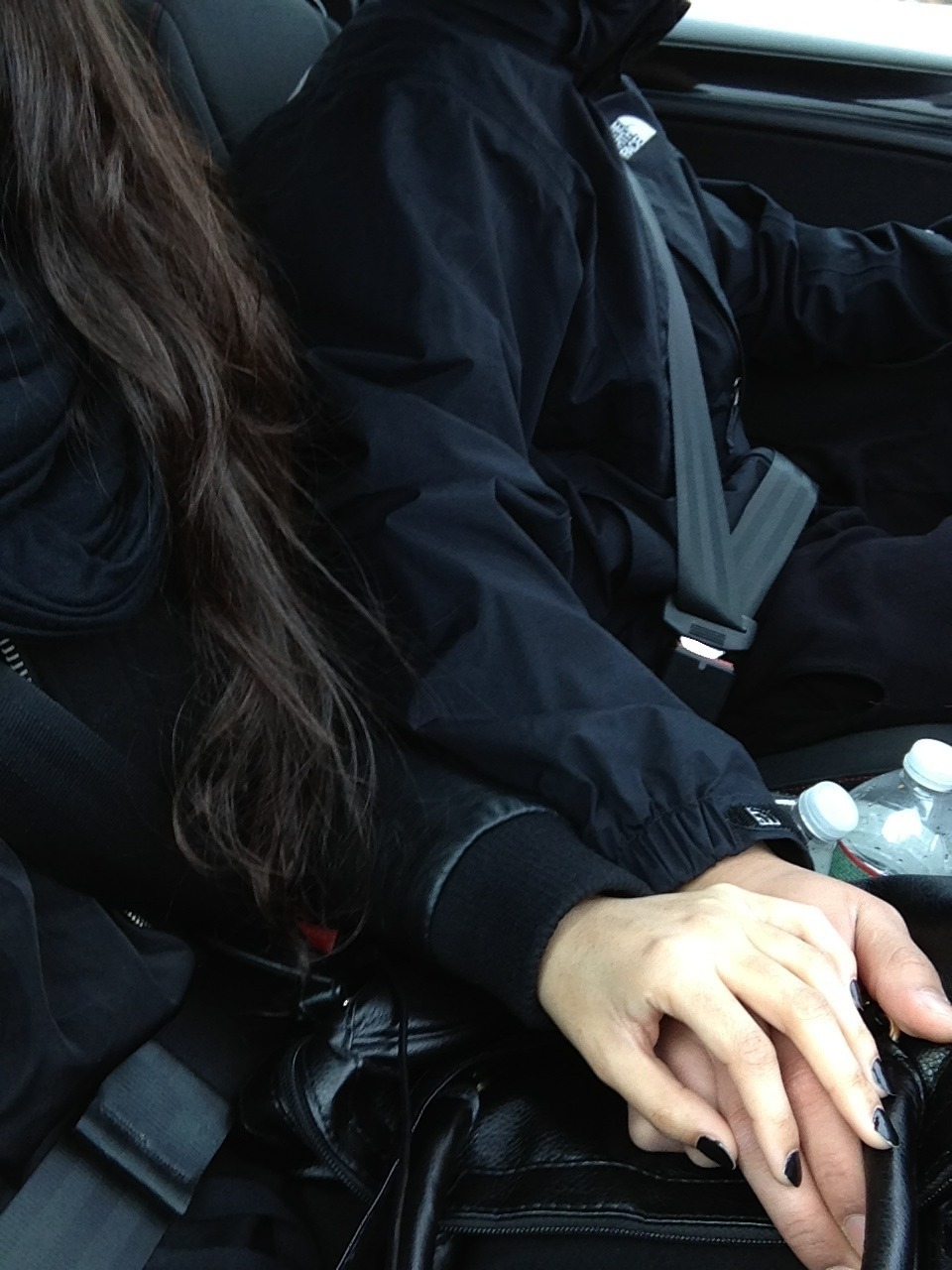 Парень с девушкой без лица в машине   сборка фото (8)