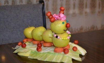 Поделки из овощей своими руками фото на выставку   прикольные (22 картинки) (7)