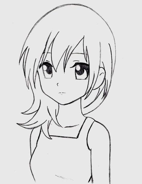 Простые рисунки карандашом для срисовки   милые (20 картинок) (5)