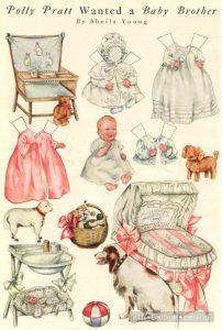 Распечатки для кукол   милым девочка (15 картинок) (4)