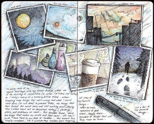 Рисунки в лд   оригинальные идеи (24 картинки) (17)