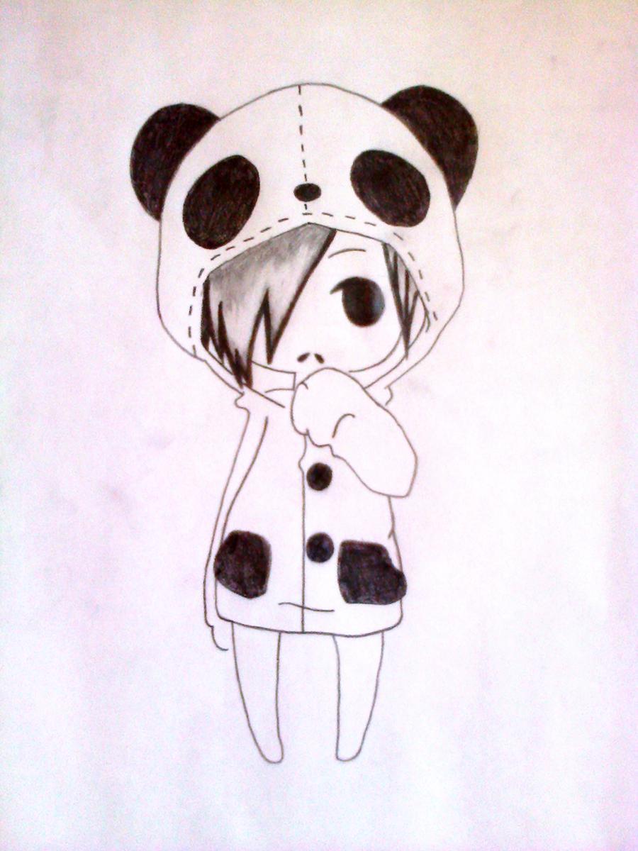картинки для срисовки карандашом красивые и легкие животные милые панда