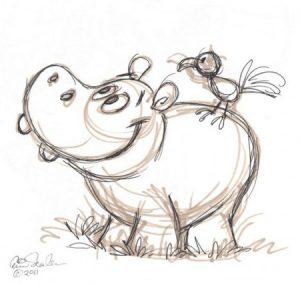 Рисунки животных карандашом для срисовки для начинающих   сборка (23)