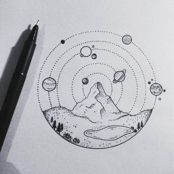 Рисунки космос   большая сборка (20 картинок) (1)