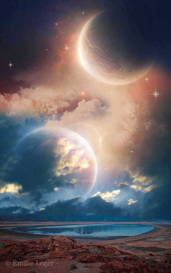 Рисунки космос   большая сборка (20 картинок) (10)
