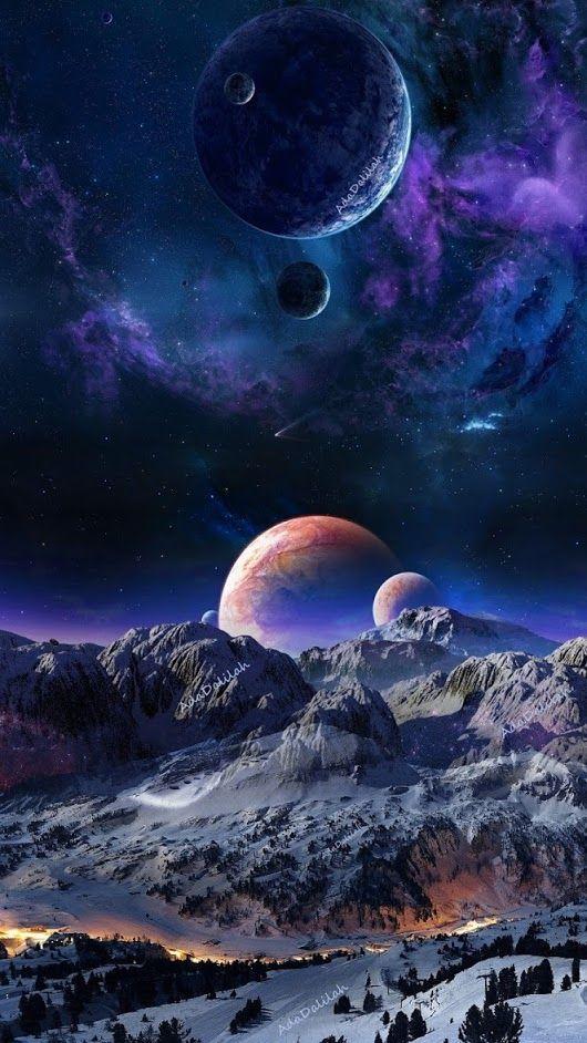 Рисунки космос   большая сборка (20 картинок) (13)