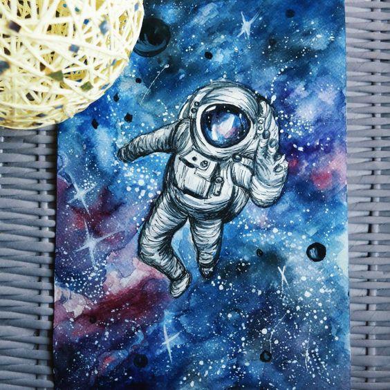 Рисунки космос   большая сборка (20 картинок) (16)