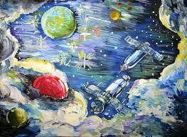 Рисунки космос   большая сборка (20 картинок) (17)