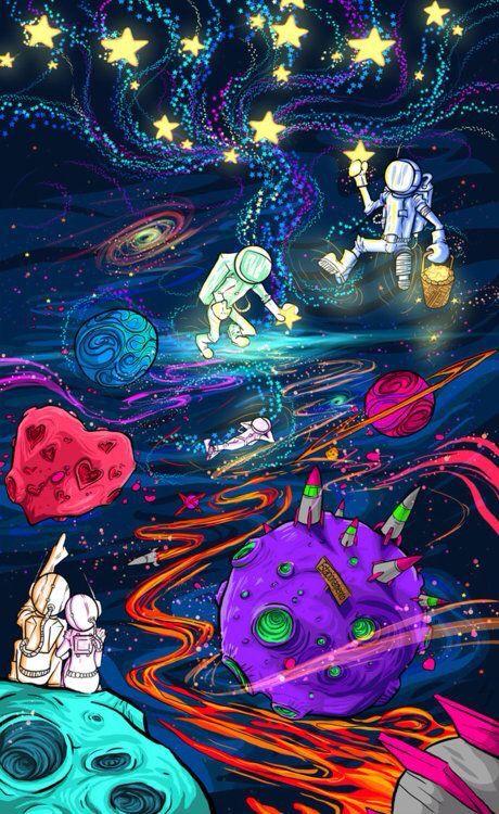 Рисунки космос   большая сборка (20 картинок) (20)