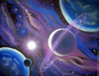 Рисунки космос   большая сборка (20 картинок) (8)