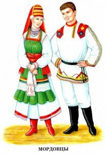 Рисунки национальных костюмов разных народов для детей   подборка (6)