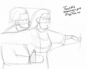 Рисунки поэтапно карандашом для подростков про любовь   подборка (15)