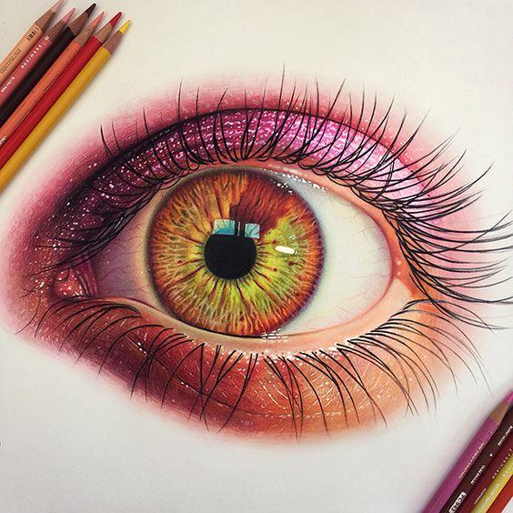 Рисунки цветными карандашами   интересно (25 картинок) (17)