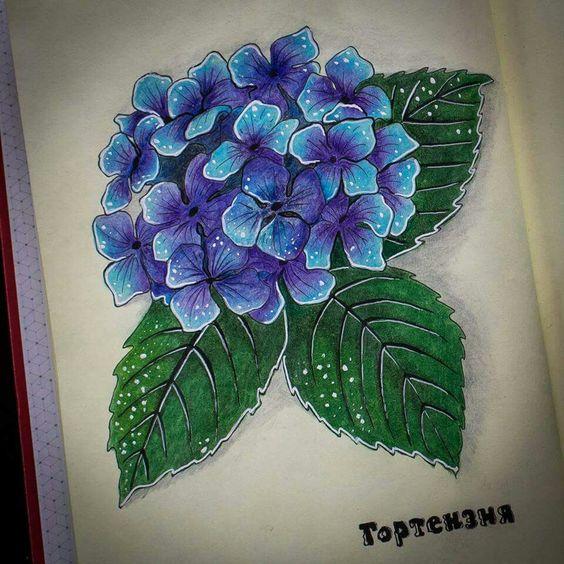 Рисунки цветными карандашами   интересно (25 картинок) (18)