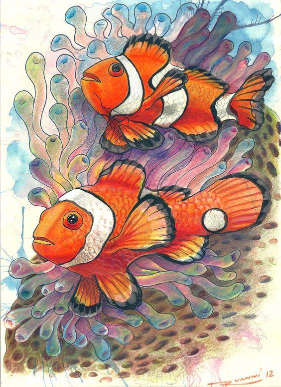 Рисунки цветными карандашами   интересно (25 картинок) (25)