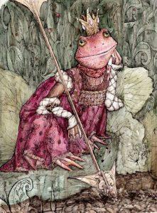 Рисунок к сказке царевна лягушка   коллекция (17 картинок) (11)