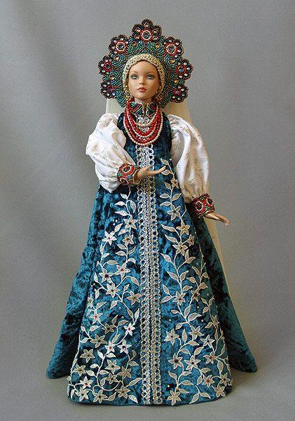 Рисунок русский народный костюм   коллекция фото (18 картинок) (1)