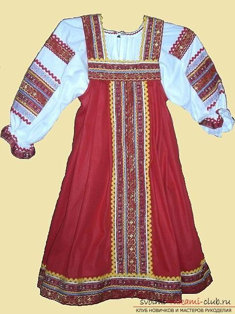 Рисунок русский народный костюм   коллекция фото (18 картинок) (10)