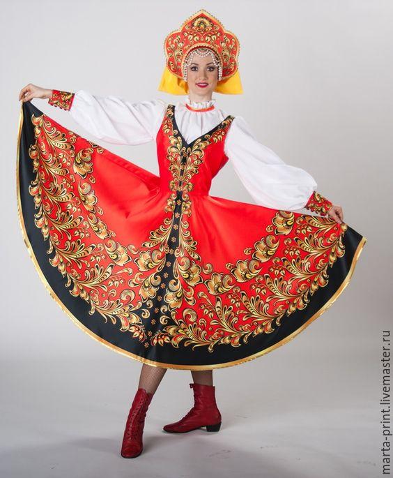 Рисунок русский народный костюм   коллекция фото (18 картинок) (12)
