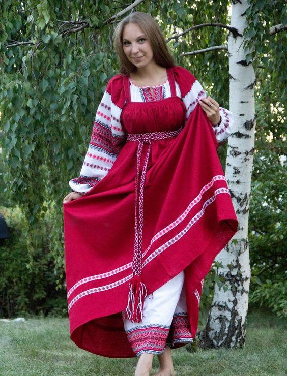 Рисунок русский народный костюм   коллекция фото (18 картинок) (4)