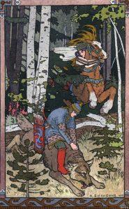 Рисунок серый волк и иван царевич   прикольные (20 картинок) (8)