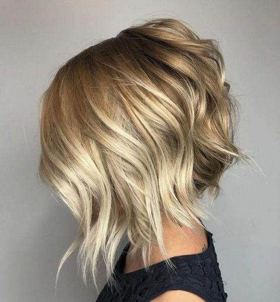 Стрижки 2019 модные тенденции фото на средние волосы   подборка (20 картинок) (1)