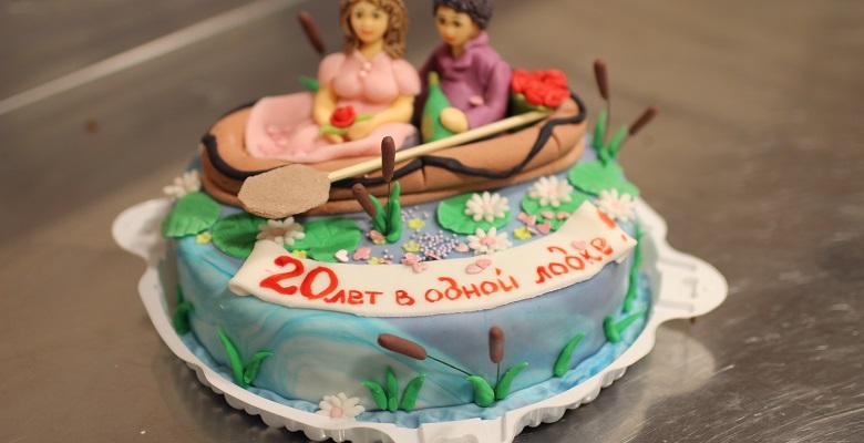 Торты на День Рождения на 20 лет — подборка фото (13)