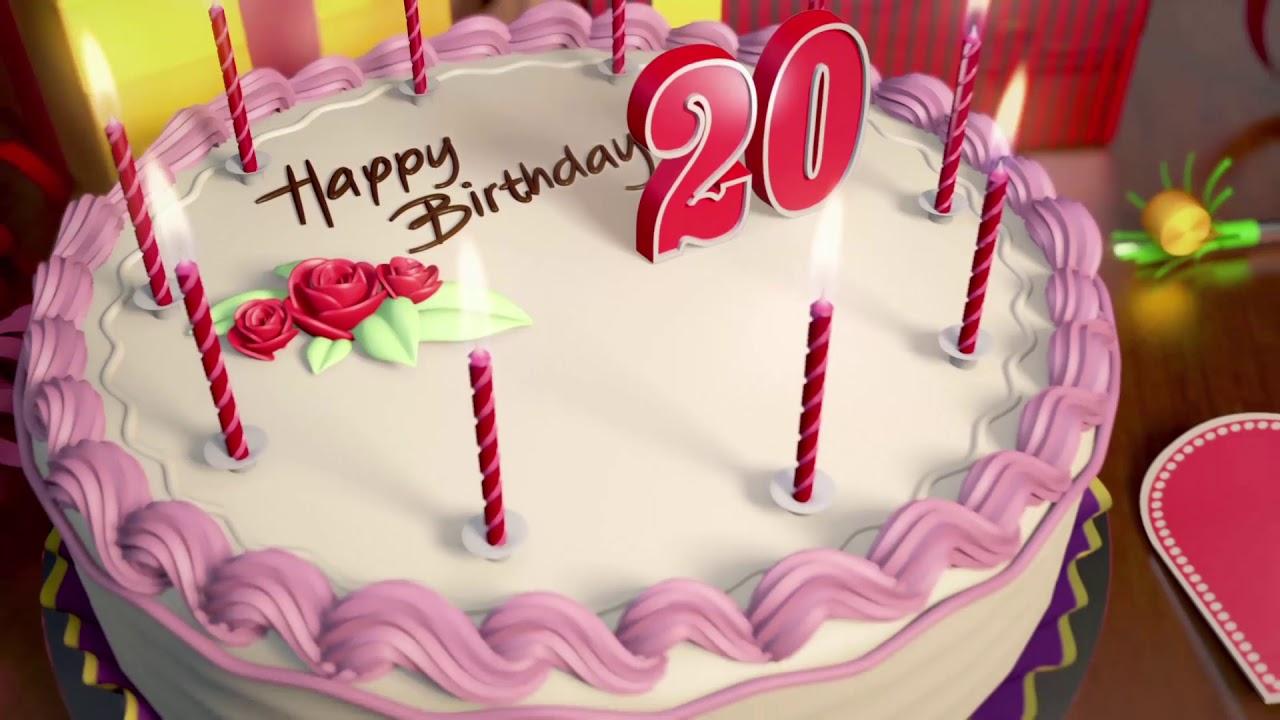 Торты на День Рождения на 20 лет — подборка фото (2)