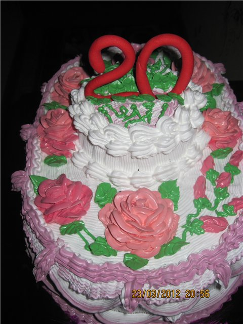 Торты на День Рождения на 20 лет — подборка фото (21)