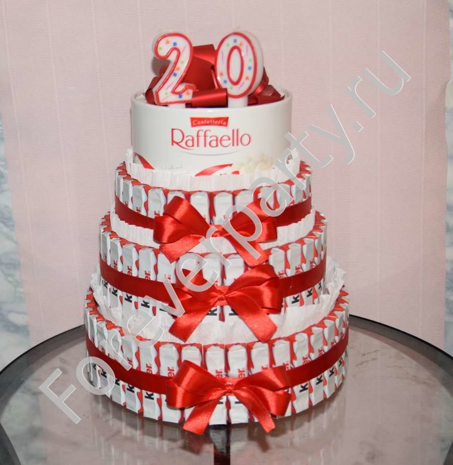 Торты на День Рождения на 20 лет — подборка фото (4)