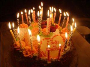 Торт со свечами с Днем Рождения   красивые фото (22)