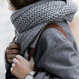 Узоры спицами для шарфа   уникальные картинки (24 штуки) (7)