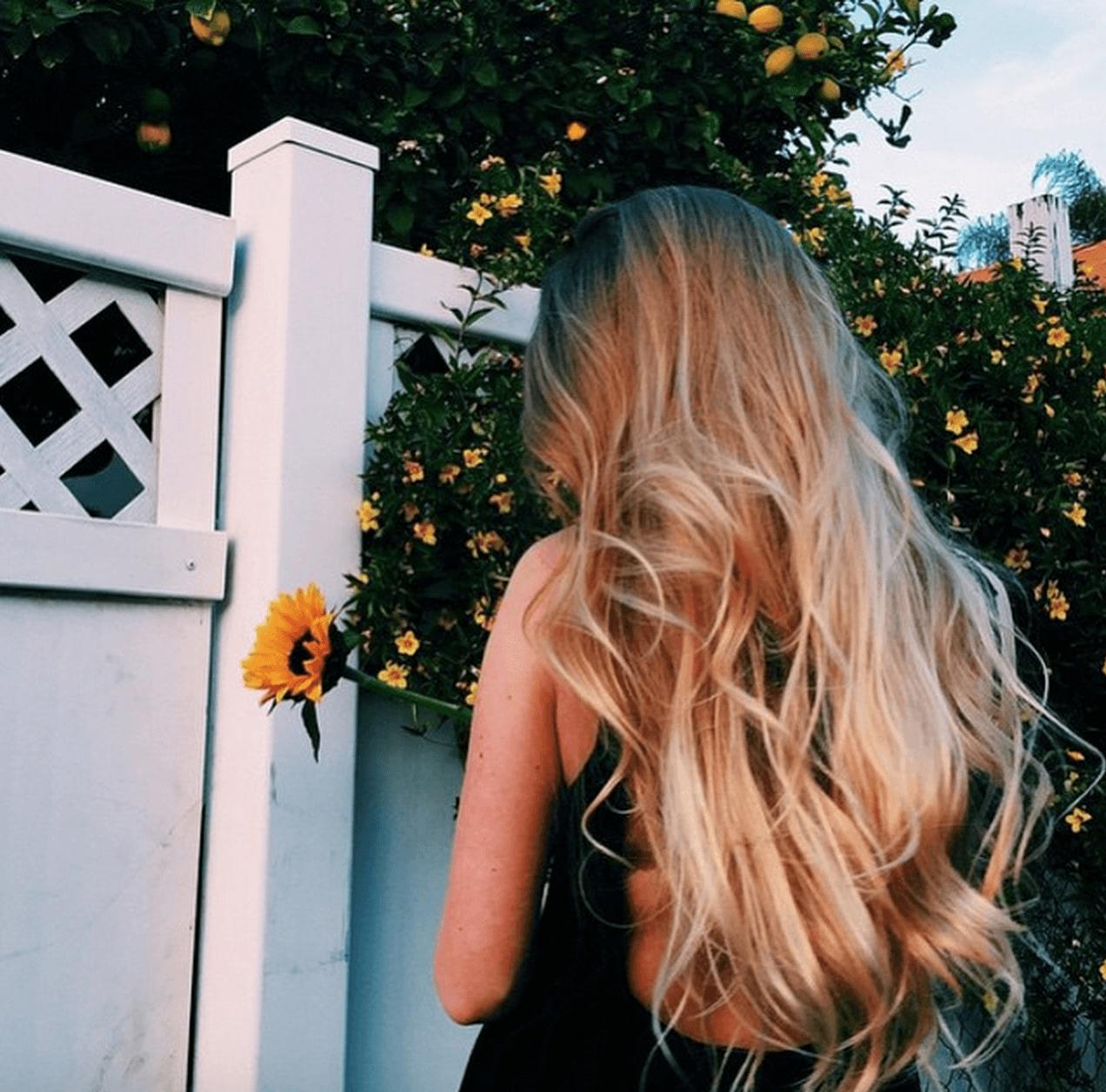 Фото девушек без лица со светлыми волосами сборка 20 фото (2)