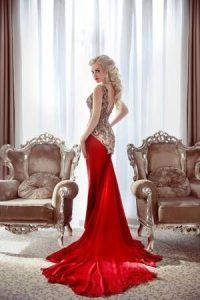 Фото девушек в красивых длинных платьях   подборка фотографий (8)