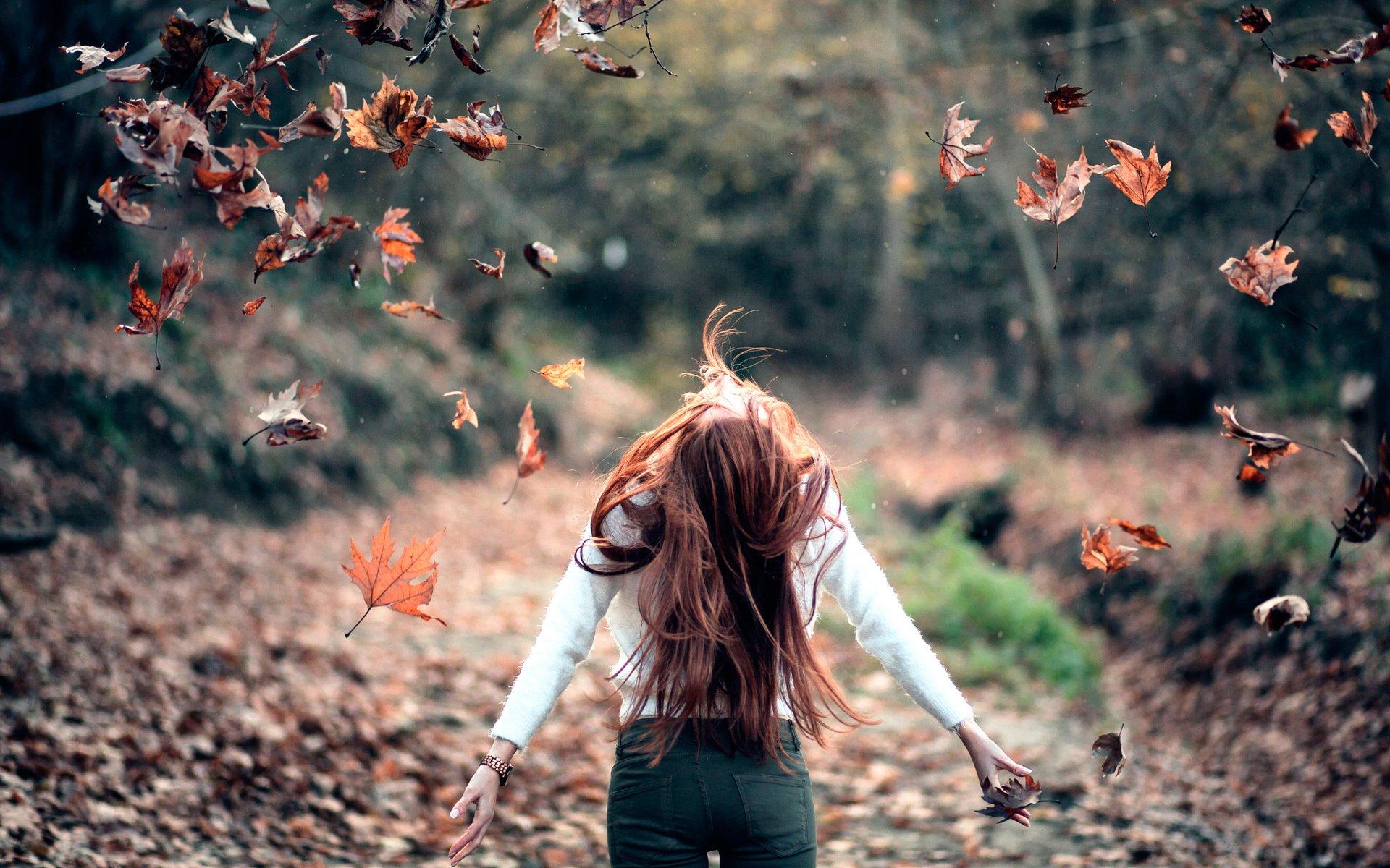 Фото девушек на аву без лица осенью   подборка лучших фото (1)