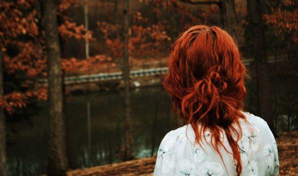 Картинки девушки рыжие со спины, творческая