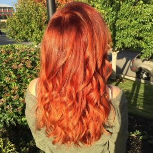 Фото девушек с рыжими волосами со спины   подборка картинок (28)