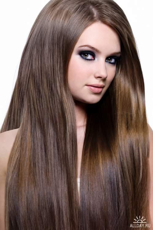 Фото красивых девушек с очень длинными волосами   подборка (1)