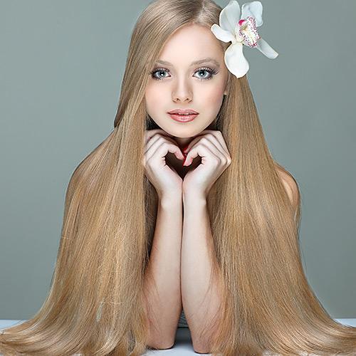 Фото красивых девушек с очень длинными волосами   подборка (13)