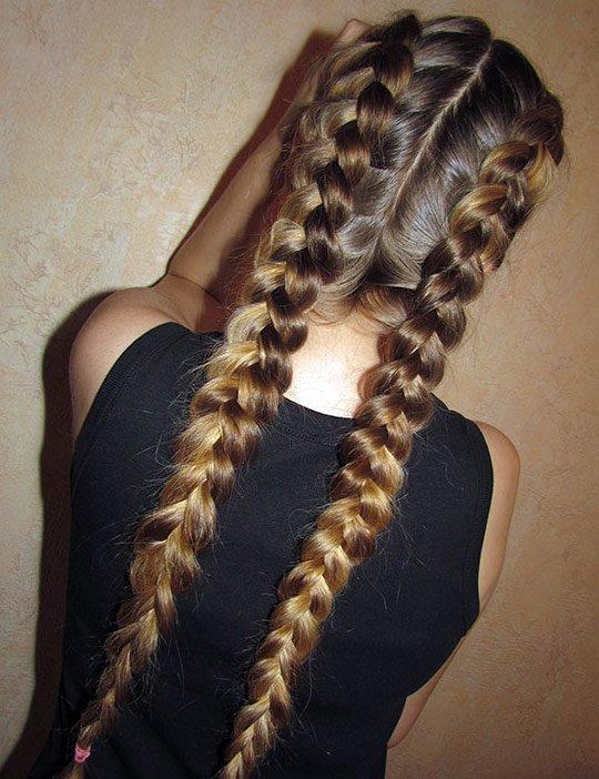 Фото красивых девушек с очень длинными волосами   подборка (17)
