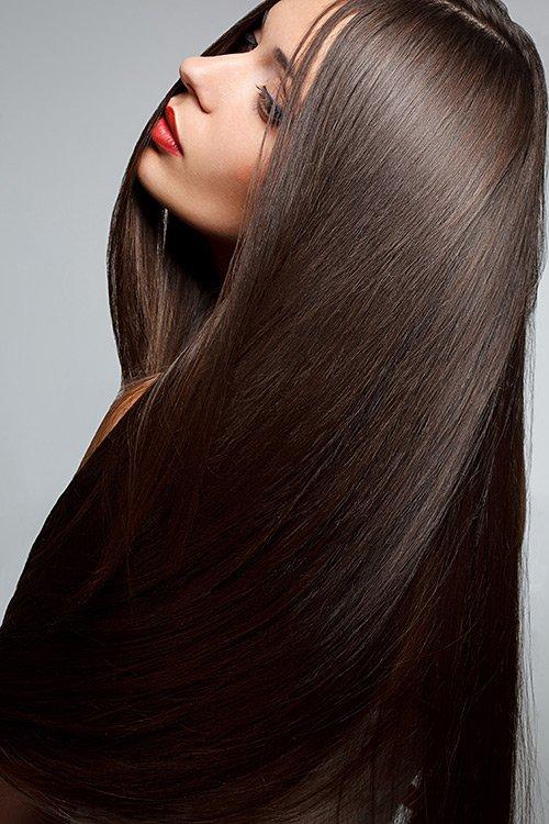 Фото красивых девушек с очень длинными волосами   подборка (5)