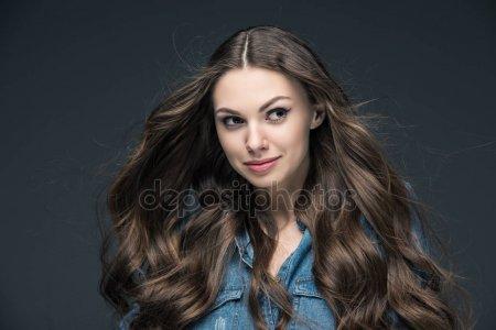 Фото красивых девушек с очень длинными волосами   подборка (9)