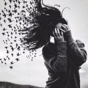 Черное белые картинки на аву для девушек   подборка фото (15)