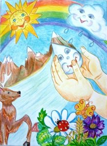 Что можно нарисовать на тему берегите воду   подборка рисунков (19)