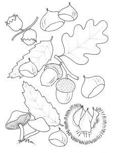 Шаблоны осенних листьев для вырезания из бумаги распечатать   сборка (17 картинок) (2)