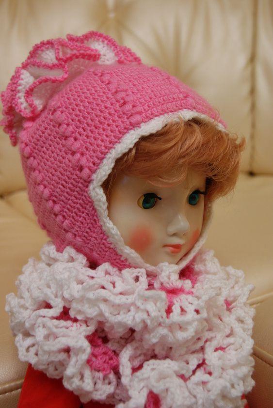 Шапка для девочки крючком милая подборка (22 картинки) (6)